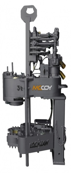 CLE3500 Hydraulic Power Tong with a Lockjaw™ Backup